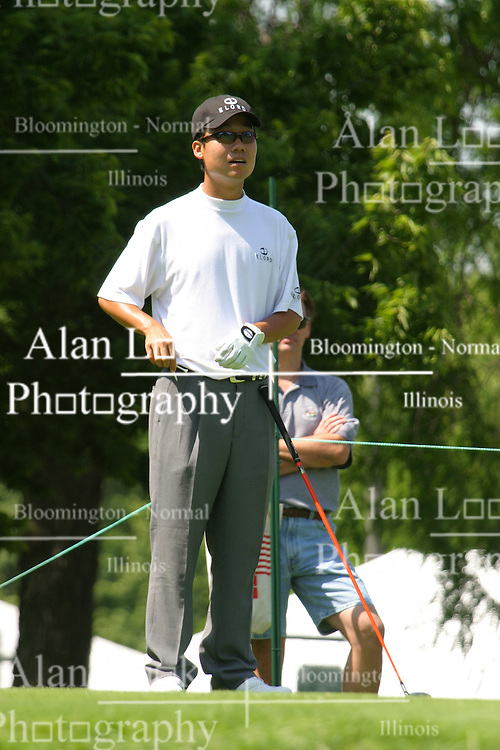 Kevin Na<br /> 2004 Cialis Western Open.  Dubsdread, Cog Hill Golf Course, Lamont, Illinois
