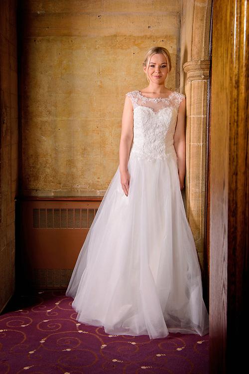 Bridal wedding dress Photo shoot at the Westone Manor Hotel, Northampton