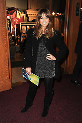Singer RACHEL STEVENS at the gala opening night of Cirque du Soleil's Varekai at the Royal Albert Hall, London on 5th January 2010.
