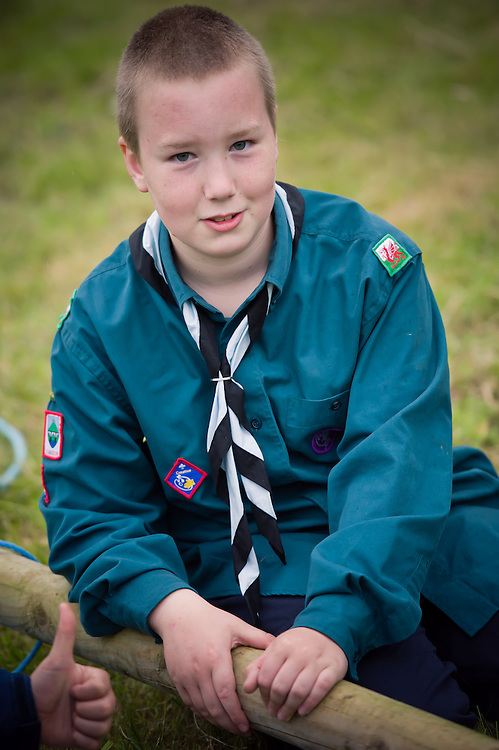 Event Photography in Wrexham of the 40th Anniversary Camp for Penycae Scout Group