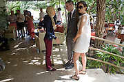 FRANCA SOZZANI; THOM BROWNE; ARUSKKA BERGMAN,  The Moncler Duck toy interpreted by artist Stuart Semple. Presented by Fraca Sozzani. Raleigh Hotel Miami Beach. 5 December 2008 *** Local Caption *** -DO NOT ARCHIVE-© Copyright Photograph by Dafydd Jones. 248 Clapham Rd. London SW9 0PZ. Tel 0207 820 0771. www.dafjones.com.