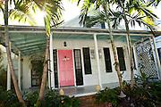 Traditional Key West style caribbean home Key West, Florida.