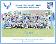 2006 Armed Forces Champions, Air Force Rugby Three Peat Team Photo