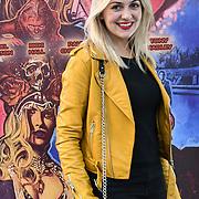 Larissa Eddie is a Singer/Songwriter arrives at Tresor Paris In2ruders - launch at Tresor Paris, 7 Greville Street, Hatton Garden, London, UK 13th September 2018.