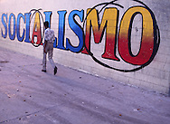 Havana Cuba, Socialism mural