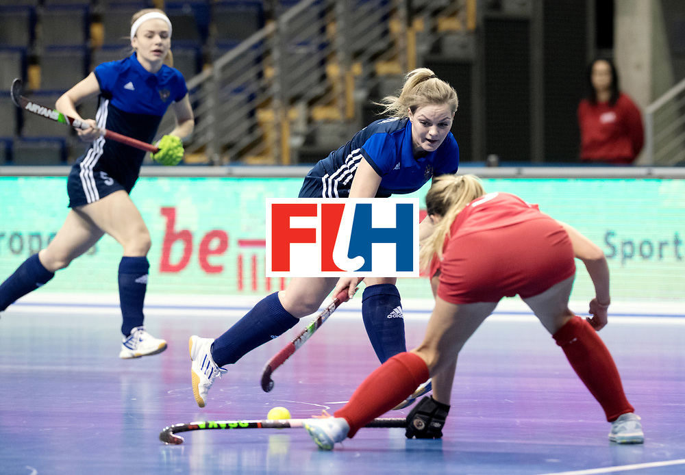 BERLIN - Indoor Hockey World Cup<br /> Women: Russia - Czech Republic<br /> foto: ORLOVA Antonina.<br /> WORLDSPORTPICS COPYRIGHT FRANK UIJLENBROEK