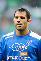 Gilles CIONI of Bastia during the Ligue 1 match between AS Saint Etienne and Bastia at Stade Geoffroy-Guichard on September 18, 2016 in Saint-Etienne, France. (Photo by Jean Paul Thomas/Icon Sport)