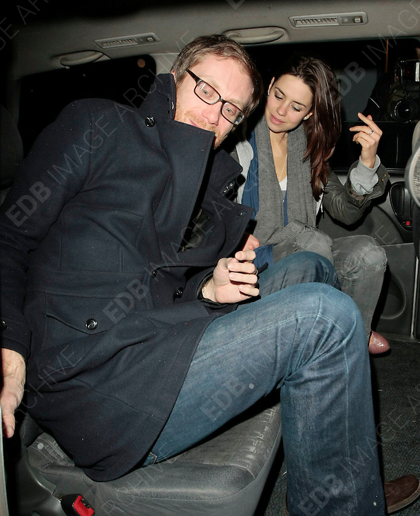 02.FEB.2010-LONDON<br /> <br /> BRITISH COMIC ACTOR STEPHEN MERCHANT LEAVING GROUCHO PRIVATE MEMBERS CLUB IN SOHO, LONDON.<br /> <br /> BYLINE MUST READ : EDBIMAGEARCHIVE.COM<br /> <br /> *THIS IMAGE IS STRICTLY FOR UK NEWSPAPERS &amp; MAGAZINES ONLY* <br /> *FOR WORLD WIDE SALES AND WEB USE PLEASE CONTACT EDBIMAGEARCHIVE - 0208 954 5968*