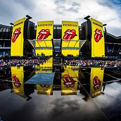The Rolling Stones Murrayfield crowd