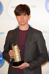 Mercury Prize. <br /> James Blake attends the Barclaycard Mercury Prize at The Roundhouse, London, United Kingdom. Wednesday, 30th October 2013. Picture by Chris Joseph / i-Images