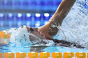 Katinka Hosszu (HUN) competes on Women's 100 m Backstroke final during the Swimming European Championships Glasgow 2018, at Tollcross International Swimming Centre, in Glasgow, Great Britain, Day 6, on August 7, 2018 - Photo Stephane Kempinaire / KMSP / ProSportsImages / DPPI