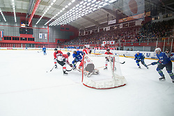 OI pre-qualifications of Group G between Slovenia men's national ice hockey team and Japan men's national ice hockey team, on February 9, 2020 in Ice Arena Podmezakla, Jesenice, Slovenia. Photo by Peter Podobnik / Sportida