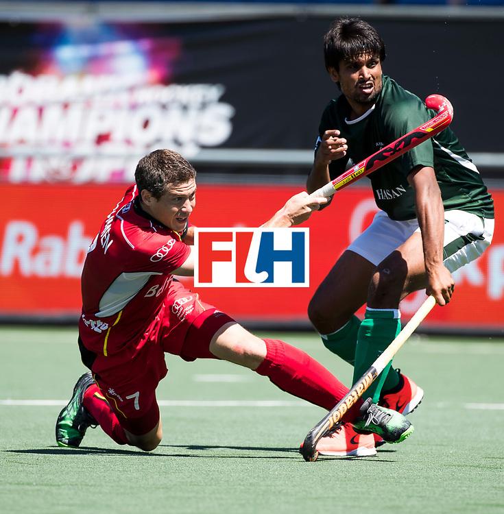 BREDA - John-John Dohmen (Bel)  .   Belgie-Pakistan om de 5e plaats . Belgie wint shoot outs. COPYRIGHT  KOEN SUYK