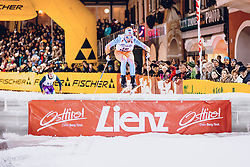 17.01.2020, Hauptplatz, Lienz, AUT, Dolomitenlauf, Dolomitensprint, im Bild Benjamin Rosselet (SUI) // during the Dolomitenlauf Dolomitensprint at the main square, Lienz, Austria on 2020/01/17, EXPA Pictures © 2020 PhotoCredit: EXPA/ Dominik Angerer