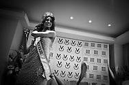 Miss Universe 2009 Venezuelan Stefania Fernandez during a press meeting in Caracas, Monday, Sept. 21, 2009. (ivan gonzalez)