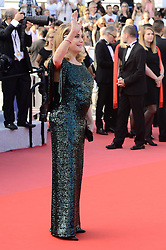 May 26, 2019 - WORLD RIGHTS.Cannes, France, 25.05.2019, 72th Cannes Film Festival in Cannes. The 72th edition of the film festival will run from May 14 to May 25. .Closing Ceremony Red Carpet .NZ. Catherine Deneuve .Fot. Radoslaw Nawrocki/FORUM (FRANCE - Tags: ENTERTAINMENT; RED CARPET) (Credit Image: © FORUM via ZUMA Press)