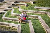 Sarah & Patrick's spring engagement shoot at Mill Race Park