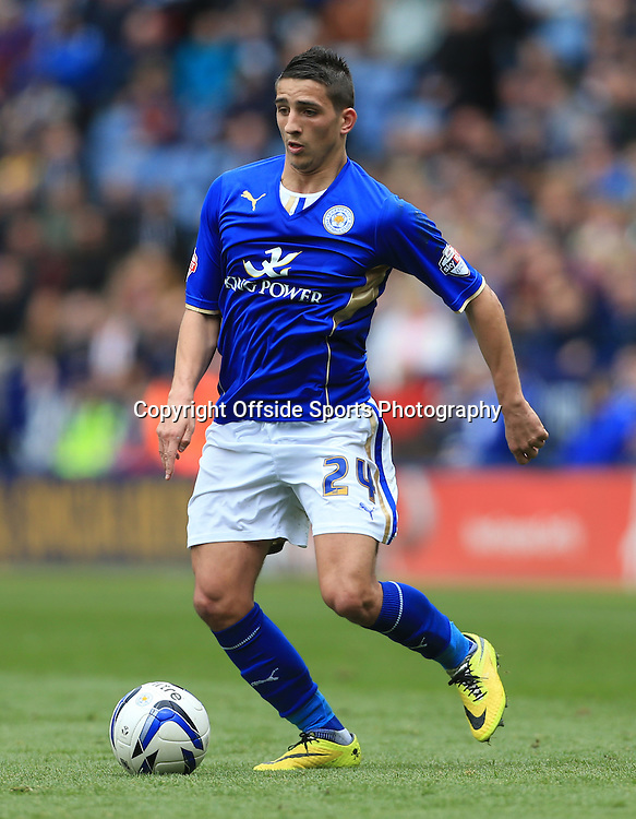 19th April 2014 - SkyBet Championship - Leicester City v Queens Park Rangers - Anthony Knockaert of Leicester - Photo: Simon Stacpoole / Offside.
