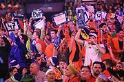 Dart fans during the World Darts Championships 2018 at Alexandra Palace, London, United Kingdom on 28 December 2018.