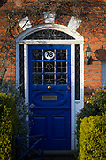 At the beginning of the second week of the UK's Coronavirus lockdown, the front door of an Edwardian period home where owners are behind locked doors, in accordance with government guidelines for social distancing and family group isolation, on 30th March 2020, in south London, England.