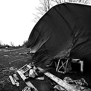 Italy, Basilicata- Is time to dismantle the camp below the Madonna of Pollino, on the mountain© 2012 Mama2