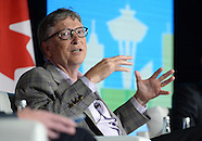 Vancouver: Bill Gates attends the Emerging Cascadia Innovation, 20 September 2016