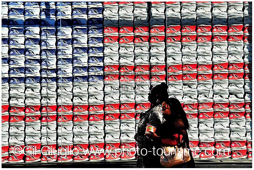 État Unis, Californie, Los Angeles, une avenue commerçante de Santa Monica // United States of America, California, Los Angeles, commercial avenue of Santa Monica