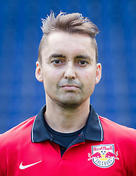 27.06.2014, Red Bull Arean, Salzburg, AUT, 1. FBL, Fototermin FC Red Bull Salzburg, im Bild Physiotherapeut Bernd Neier // Physio Bernd Neier during the official Team and Portrait Photoshoot of Austrian Football Team FC Red Bull Salzburg at the Red Bull Arena, Salzburg, Austria on 2014/06/27. EXPA Pictures © 2014, PhotoCredit: EXPA/ JFK