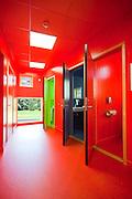 Tallhall meteorologisk wc rødt blått grønt