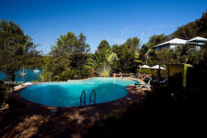 Pool, Bel Air Plantation Resort.