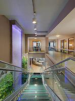 Architectural interior of the Winthrop Apartments building in Towson Maryland by Jeffrey Sauers of Commercial Photographics, Architectural Photo Artistry in Washington DC, Virginia to Florida and PA to New England