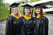 Voinovich School of Leadership and Public Affairs students participate in graduate commencement ceremonies. Photo by Ben Siegel