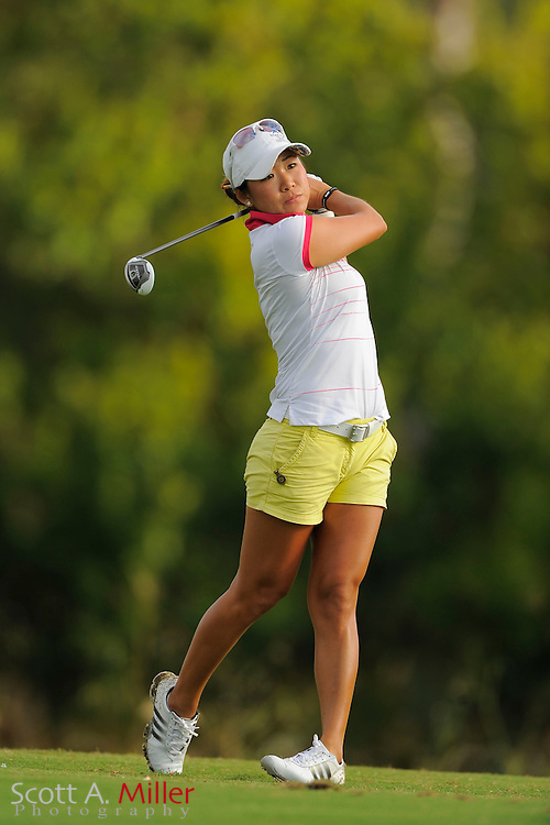 Kitty Hwang during the first round of the Symetra Tour Championship at LPGA International on Sept. 26, 2013 in Daytona Beach, Florida. <br /> <br /> <br /> ©2013 Scott A. Miller