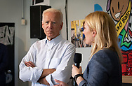 Former Vice-President Joe Biden and his wife Jill Biden  with Rep. Cedric Richmond visiting the Youth Empowerment Project (YEP) in New Orleans, Louisiana on July 23, 2019.
