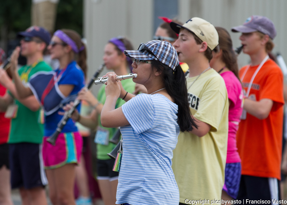 Pride of Providence Band Camp August 2013.