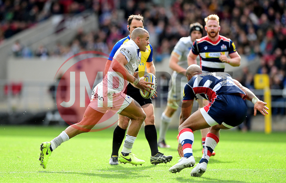 Jonathan Joseph of Bath Rugby  - Mandatory by-line: Joe Meredith/JMP - 26/02/2017 - RUGBY - Ashton Gate - Bristol, England - Bristol Rugby v Bath Rugby - Aviva Premiership