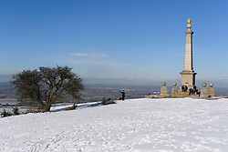 © Licensed to London News Pictures. 30/01/2019. Butlers Cross, UK.  A snow covered landscape on Coombe Hill in Butlers Cross, Buckinghamshire, as snow hits the south east of England. Photo credit: Ben Cawthra/LNP