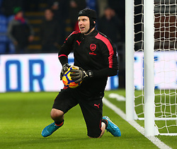 December 28, 2017 - London, England, United Kingdom - Arsenal's Petr Cech during the pre-match warm-up during Premier League  match between Crystal Palace and Arsenal at Selhurst Park Stadium, London,  England 28 Dec 2017. (Credit Image: © Kieran Galvin/NurPhoto via ZUMA Press)