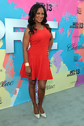 """Los Angeles, CA-June 29: Former Professional Boxer Laila Ali attends the Seventh Annual """" Pre """" Dinner celebrating BET Awards hosted by BET Network/CEO Debra L. Lee held at Miulk Studios on June 29, 2013 in Los Angeles, CA. © Terrence Jennings"""