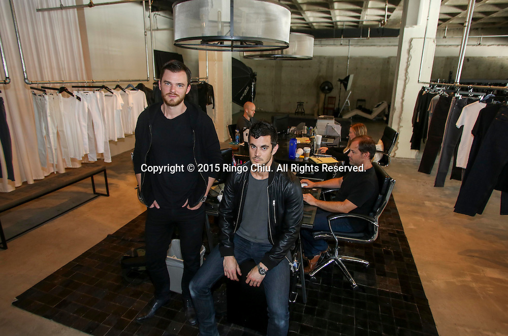 DSTLD founders Corey Epstein, right, and Mark Lynn.<br /> (Photo by Ringo Chiu/PHOTOFORMULA.com)