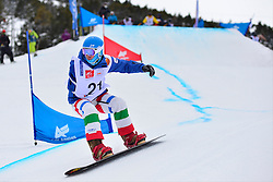 World Cup SBX, PRIOLO Paolo, ITA at the 2016 IPC Snowboard Europa Cup Finals and World Cup