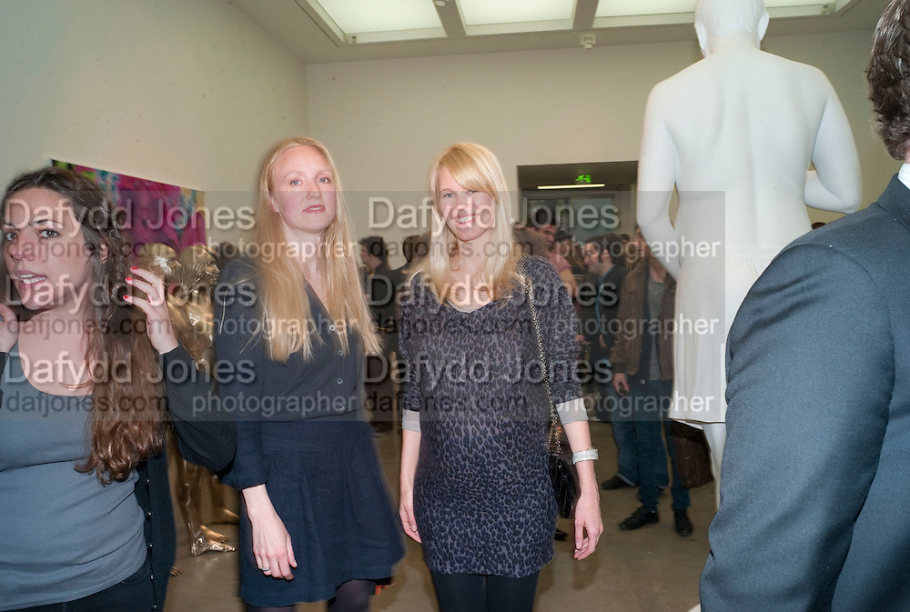 CLAUDIA SCHIFFER, Marc Quinn exhibition opening. Allanah, Buck, Catman, Michael, Pamela and Thomas. White Cube Hoxton Sq. London. 6 May 2010.  *** Local Caption *** -DO NOT ARCHIVE-© Copyright Photograph by Dafydd Jones. 248 Clapham Rd. London SW9 0PZ. Tel 0207 820 0771. www.dafjones.com.<br /> CLAUDIA SCHIFFER, Marc Quinn exhibition opening. Allanah, Buck, Catman, Michael, Pamela and Thomas. White Cube Hoxton Sq. London. 6 May 2010.