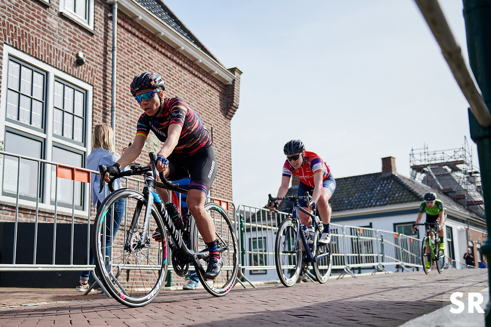 Trixi Worrack (GER) with one lap to go at Healthy Ageing Tour 2018 - Stage 4, a 143 km road race starting and finishing in Winsum on April 7, 2018. Photo by Sean Robinson/Velofocus.com