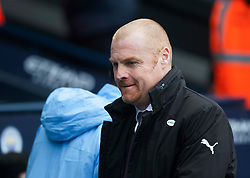 Burnley manager Sean Dyche ahead of the match - Mandatory by-line: Jack Phillips/JMP - 26/01/2019 - FOOTBALL - Etihad Stadium - Manchester, England - Manchester City v Burnley - Emirates FA Cup