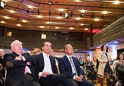 """20.03.2017, Austria Center, Wien, AUT, SPÖ, Bundesländer Tour des Parlamentsklub unter dem Motto: """"Arbeiten für Österreich"""". im Bild v.l.n.r. Bürgermeister der Stadt Wien Michael Häupl (SPÖ), Bundeskanzler Christian Kern (SPÖ) und Klubobmann SPÖ Andreas Schieder // f.l.t.r. Mayor of Vienna Michael Haeupl (SPOe), Federal Chancellor of Austria Christian Kern and Leader of the Parliamentary Group SPOe Andreas Schieder during an event of the austrian social democratic party in Vienna, Austria on 2017/03/20. EXPA Pictures © 2017, PhotoCredit: EXPA/ Michael Gruber"""