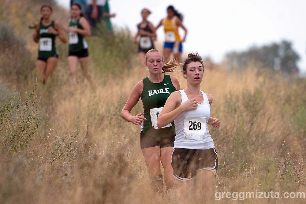 Camels Back Classic girls junior varsity race at Camels Back Park, Boise, Idaho, August 29, 2015.