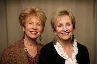 16 February 2012: Suzanne and Karen of Nirvana Wellnest in Huntington Beach, CA.