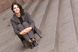Portraits of Emma Jay, Emma has spent some time travelling. Loc: Herbert Smith, Exchange House, London EC2, August 3, 2000..Photo by Andrew Parsons/i-Images..