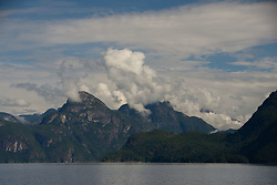 Hotham Sound, Sunshine Coast, British Columbia, Canada