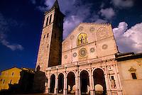Duomo, Spoleto, Umbria, Italy